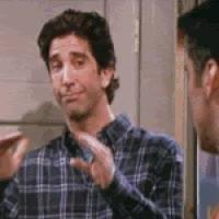 Joe , Chandler , Ross thumps up!