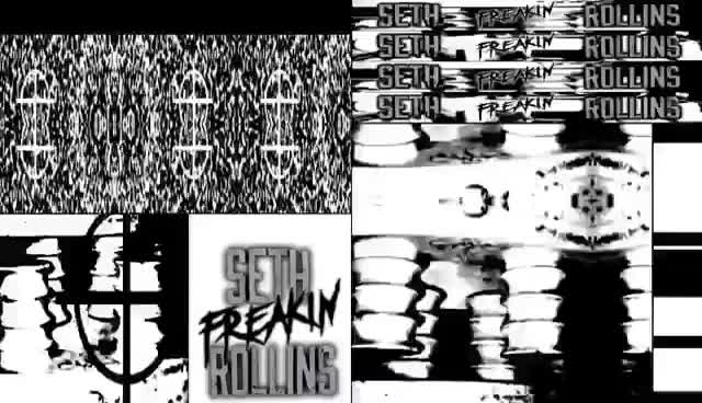 Watch and share WWE Seth Rollins 2017 Graphics Pack GIFs on Gfycat