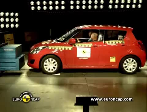 Watch and share ► 2011 Suzuki Swift - CRASH TEST GIFs on Gfycat