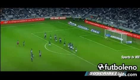 Watch and share Golazo De Edwin Cardona - Monterrey Vs León- GIFs on Gfycat