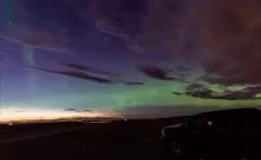 Watch Northern Lights, Big Sky GIF on Gfycat. Discover more related GIFs on Gfycat