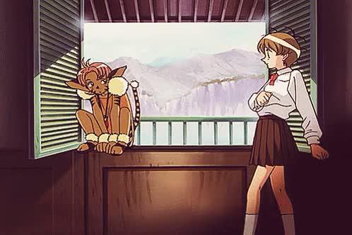 Watch Edward Levaincois' Waifu GIF on Gfycat. Discover more anime, anime gif, anime scene, cat fight, condescending, contempt, escaflowne, gif, hitomi kanzaki, marking one's territory, merle, no pun intended, possessiveness, tenkuu no escaflowne, territorial, vision of escaflowne, 天空のエスカフローネ GIFs on Gfycat