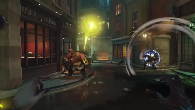"Watch and share "" ""overwatch Moira GIFs and ""new Hero Moira"" GIFs on Gfycat"