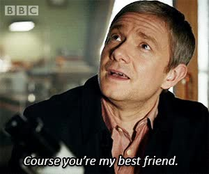 Watch and share Martin Freeman GIFs and Best Friend GIFs on Gfycat