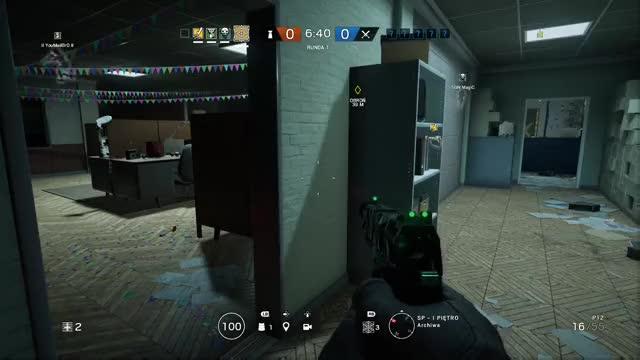 Watch this GIF by Gamer DVR (@xboxdvr) on Gfycat. Discover more TomClancysRainbowSixSiege, igi69, xbox, xbox dvr, xbox one GIFs on Gfycat