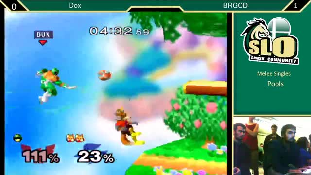 SLOCAP 5 Melee Singles: Dox (Falcon) vs BRgod (Fox) Pools