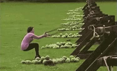 Watch and share Watermelon, Launch, Oops, Fail, Ouch GIFs on Gfycat