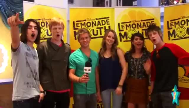 Watch and share Lemonade Mouth GIFs and Interview GIFs on Gfycat