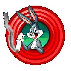 Watch and share Bugs Bunny Smoking A Joint animated stickers on Gfycat