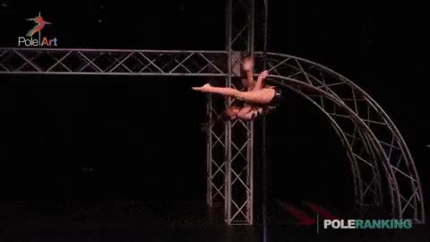 Watch and share Olga Trifonova GIFs and Pole Dancing GIFs on Gfycat