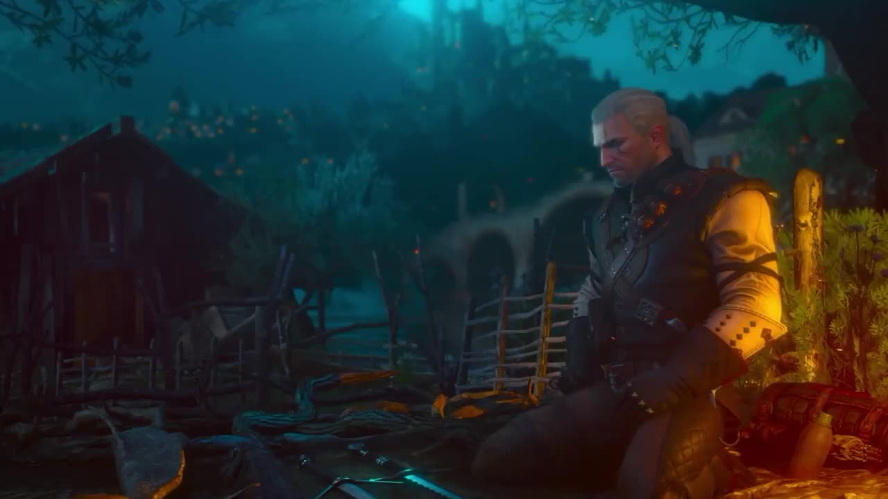 Witcher, destiny2, Witcher 3: Blood and Wine - Main Menu Theme GIFs