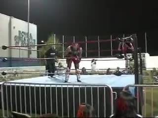 Watch Chimaera vs Johnny Yuma GIF by Blaze Inferno (@metaknightxprophets) on Gfycat. Discover more Entertainment, andrewxpulido, cal, pro, so, wrestling GIFs on Gfycat