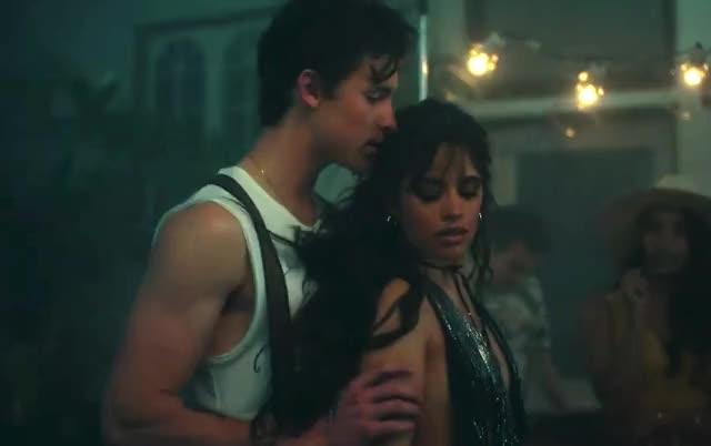 Shawn Mendes, Camila Cabello - Señorita you turn together shawn senorita party mendes love hug hot dizzy dancing dance couple camila cabello aww around Señorita curated GIF