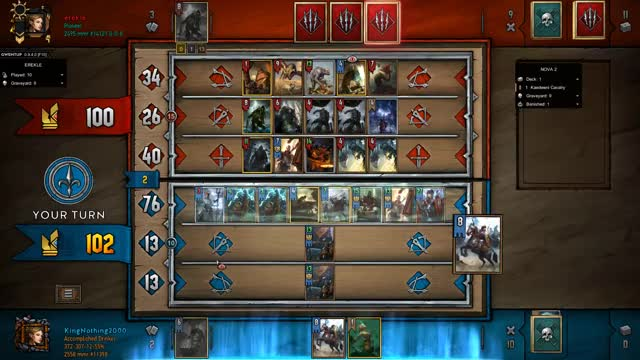 Watch Gentleman End GIF by KingNothing2000 (@kingnothing2000) on Gfycat. Discover more Gwent, Gwent Moments, Gwent: The Witcher Card Game, King, King Nothing, Moments, Nothing, Nothing but King Moments GIFs on Gfycat
