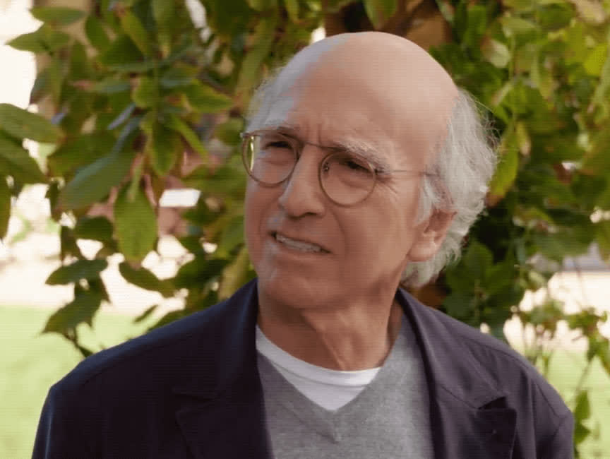 confused, curb your enthusiasm, huh, larry david, season 9, what, wtf, Larry David Confused GIFs