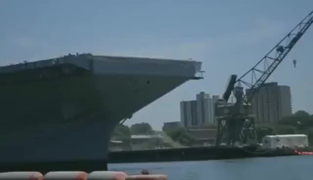 Watch and share Trucks Launched Off USS Gerald Ford Aircraft Carrier To Test Its Jet Catapult System GIFs on Gfycat