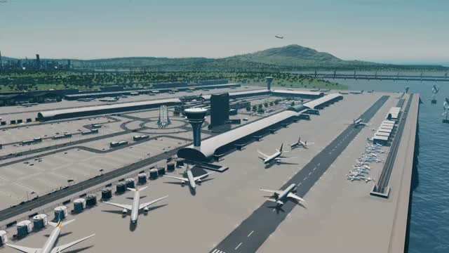 Watch Cities Skylines airport timelapse GIF on Gfycat. Discover more related GIFs on Gfycat