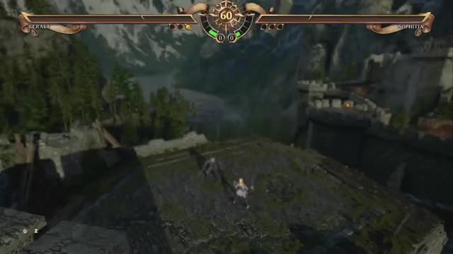 Watch and share SoulCalibur VI Witcher Geralt Moveset #5 GIFs by szymrad on Gfycat