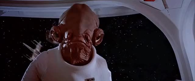 Watch this its a trap GIF by werwolf (@werwolfgfys) on Gfycat. Discover more admiral ackbar, careful, danger, its a trap, movie, movies, reaction, sci fi, science fiction, star wars, trap, warning, watch out GIFs on Gfycat