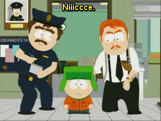 Watch and share Southpark Nice GIFs on Gfycat