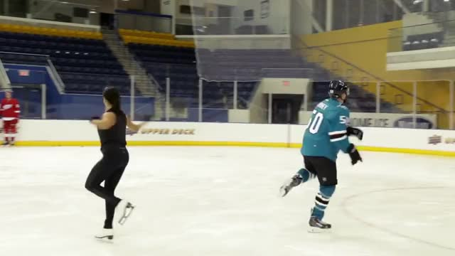Watch and share NHL Players Get Figure Skating Lessons GIFs on Gfycat