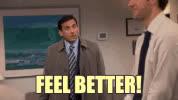 feel better, feel better soon, get well, get well soon, Feel Better GIFs