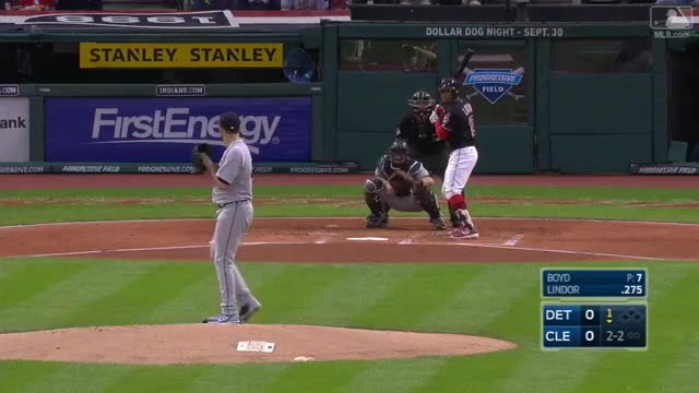 Watch and share Lindor's Leadoff Home Run GIFs by Baseball America on Gfycat
