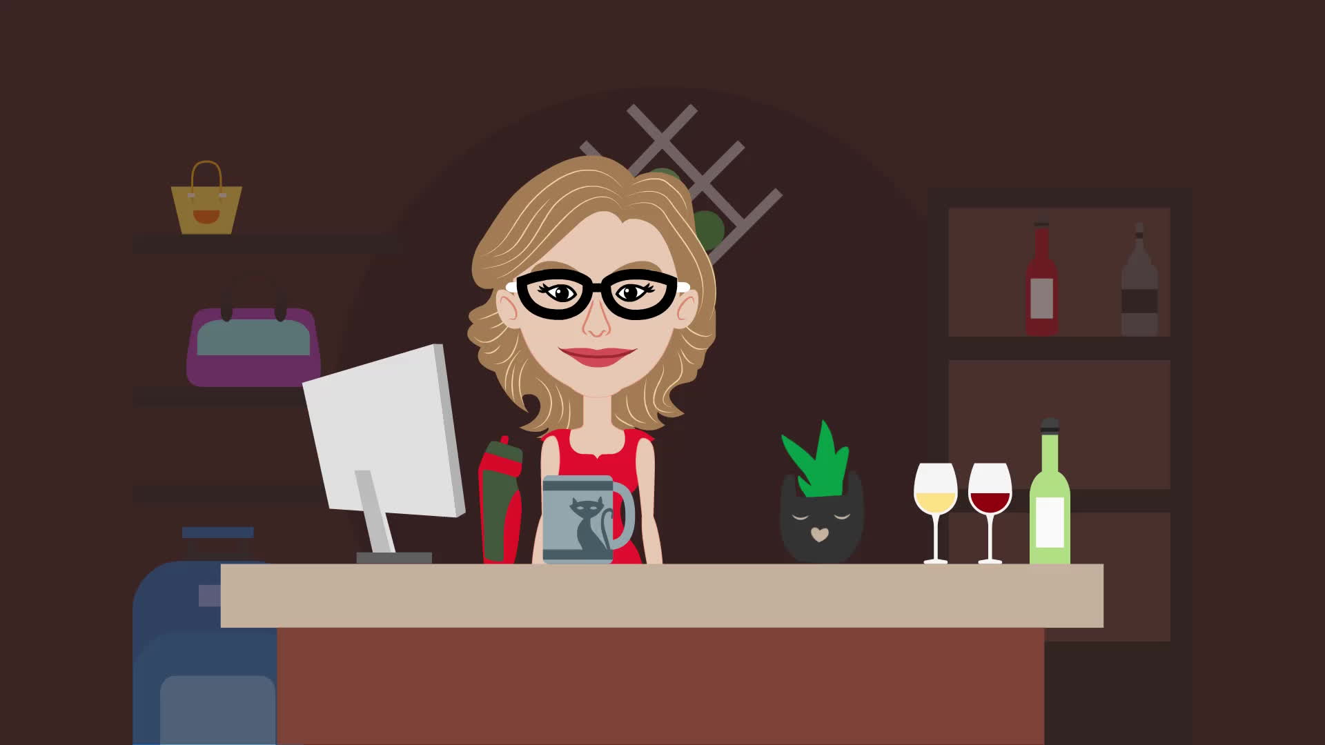 animation studio, video production, video production studio, Red Wagon Video Solutions | Brand Ambassador | Lexi GIFs