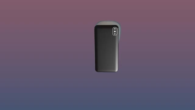 Iphone x animation. Face capture gif by