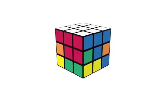 How To Solve A Rubik's Cube | OFFICIAL TUTORIAL PART 4 GIFs