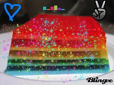 Watch and share Rainbow JeLlO GIFs on Gfycat