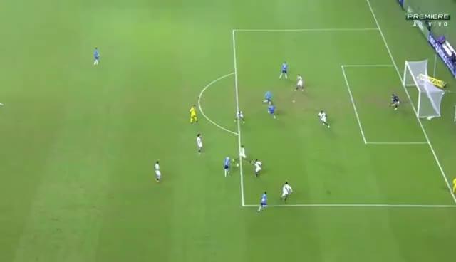 Watch and share Gol De Luan - Grêmio 2 X 0 Vasco - Brasileirão Série A 04/06/2017 GIFs on Gfycat