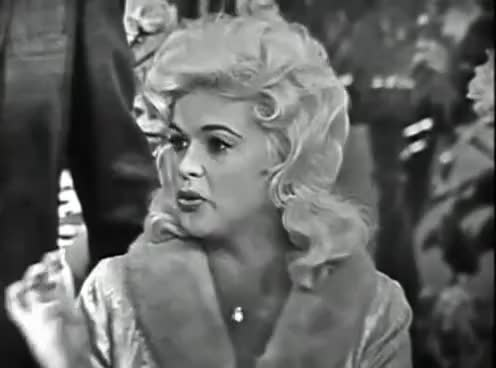 Jayne Mansfield Surprise guest 1960 Diamonds to Dust This is Your Life