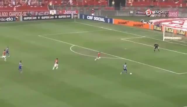 Watch and share Melhores Momentos - Gol De Internacional 1x0 Cruzeiro - Campeonato Brasileiro (27/11/16) GIFs on Gfycat