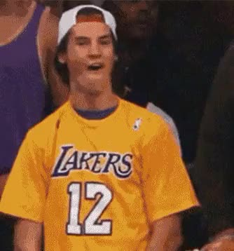 Watch and share Lakers Bro Deal With It GIFs on Gfycat