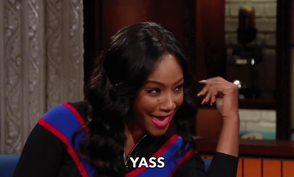 Tiffany Haddish, yas, yas queen, yes, Tiffany Haddish Yass GIFs