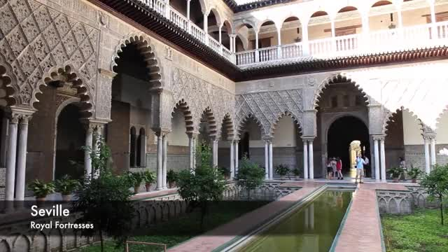 Watch Moorish Architecture in Spain GIF on Gfycat. Discover more Alcazar, Aljaferia, Andalusia, Moorish, Moorish Architecture, Mosque, Muslim, Saragossa, Seville, Spain GIFs on Gfycat