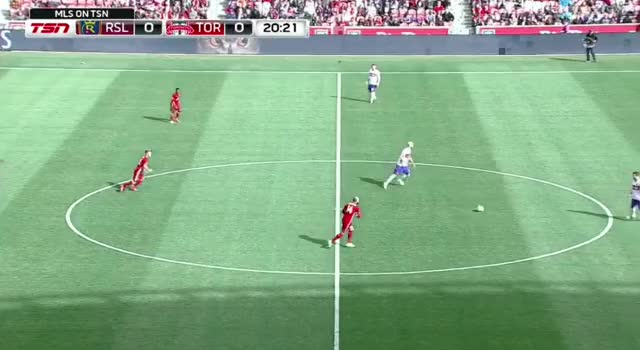 Watch and share TFC Fluid Shape - Both Strikers Check Deep, Osorio Goes High GIFs by Evercombo on Gfycat