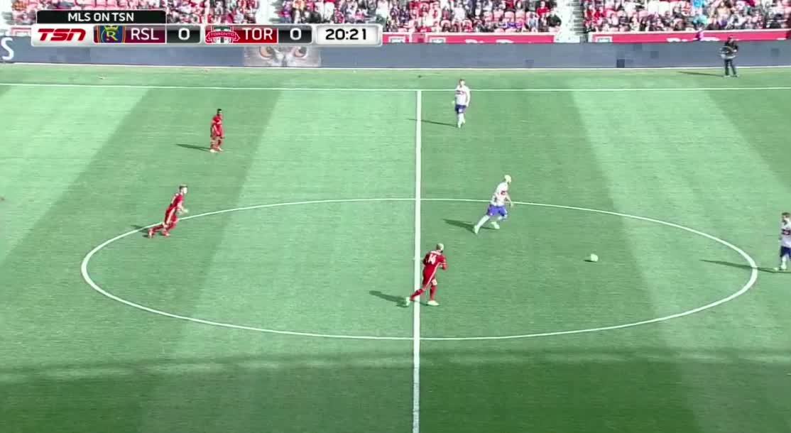 TFC fluid shape - both strikers check deep, Osorio goes high GIFs