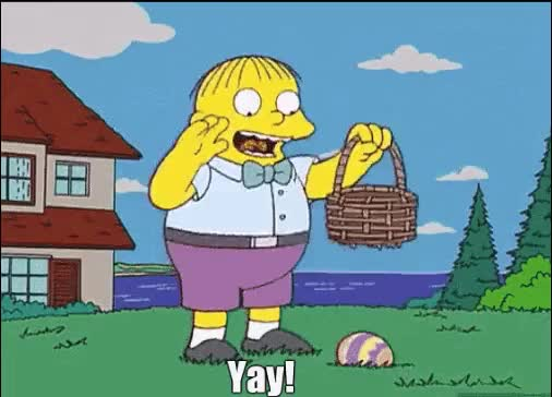 Watch and share The Simpsons GIFs and Eggs GIFs on Gfycat