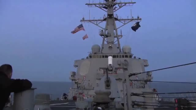 Watch U.S. Navy Destroyer launches Tomahawk cruise missiles GIF on Gfycat. Discover more AFRICOM, DDG-55, EUCOM, Libya, TLAM, USS Stout, high definition, humanitarian, navy, tomahawk GIFs on Gfycat
