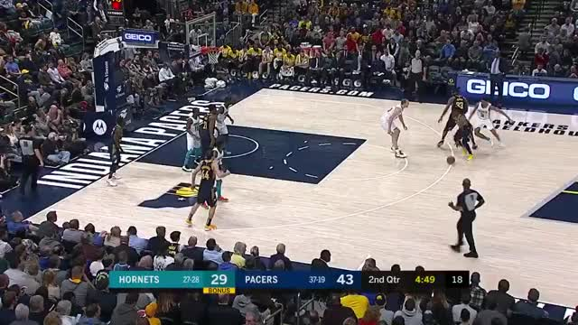 Watch and share Charlotte Hornets GIFs and Indiana Pacers GIFs on Gfycat