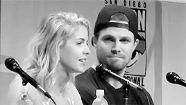 Watch ARROW GIF on Gfycat. Discover more Stephen Amell, arrow, arrow cast, arrowedit, emily bett rickards, stemily, stephen x emily GIFs on Gfycat