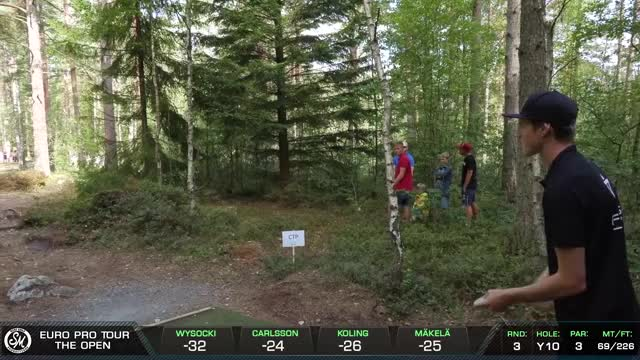 Watch Ace at The Open - Linus Carlsson Round 3 Hole 10 GIF by Benn Wineka UWDG (@bennwineka) on Gfycat. Discover more Disc Golf, Frisbee, Norge, Norway, Oslo, SM Disc Golf Productions, SM disc golf, SMDG, Sports GIFs on Gfycat