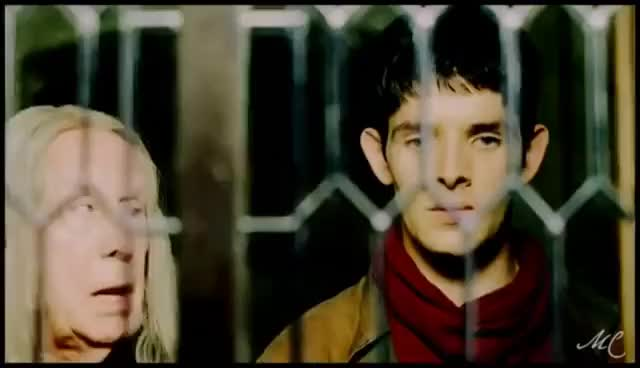 Watch and share [Merlin/Arthur/Mordred] Merlin Jaelous Of Mordred GIFs on Gfycat
