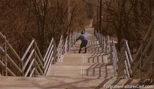 inline, rollerblading, stairs, Sick Stair Set GIFs