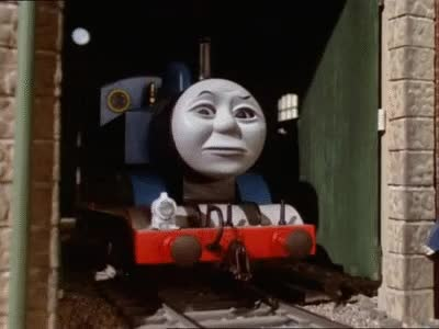 Watch and share Thomas Comes To Breakfast - UK (Restored) GIFs on Gfycat