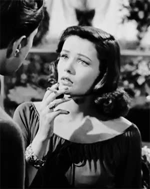 Watch Gene Tierney in 'Laura', 1944. GIF on Gfycat. Discover more *laura, 500, black & white, cinema, gene tierney, idk she's just so beautiful, laura, my edit, noir, old hollywood, retro GIFs on Gfycat