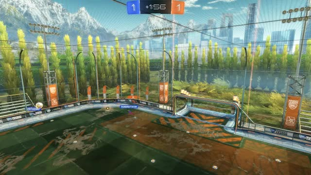 Watch and share Rocket League GIFs and Double Touch GIFs by James Warburton on Gfycat