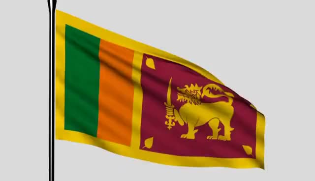 Watch and share Sri Lankan Flag - One Country! One Nation! GIFs on Gfycat